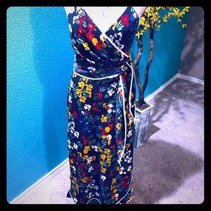 NWT Tory Burch Grotto Wrap Maxi Dress 6
